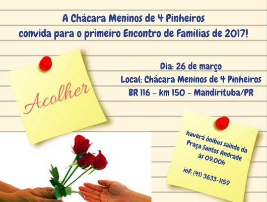 Encontro de Famílias 2017_convite